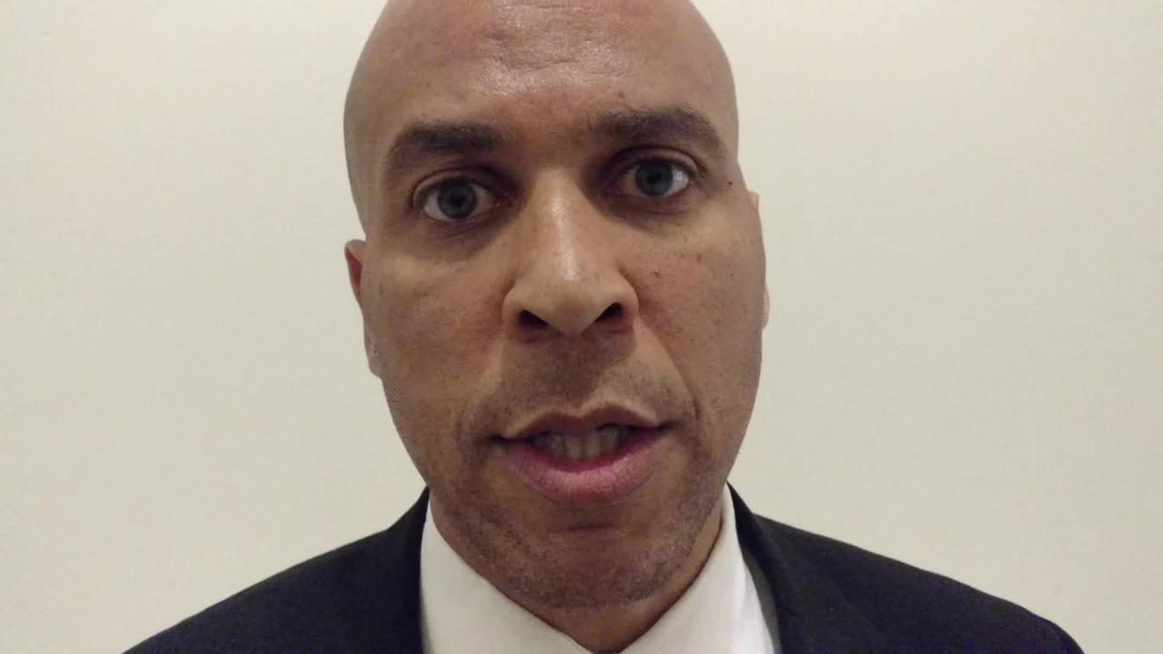Sen. Cory Booker, D-NJ, explains his reasons for calling for an independent investigation into Russian involvement in the election and interactions with President Trump's campaign and transition team. 2/15/17