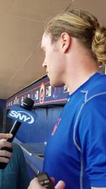 Noah Syndergaard talks about being named the Mets opening day starter.