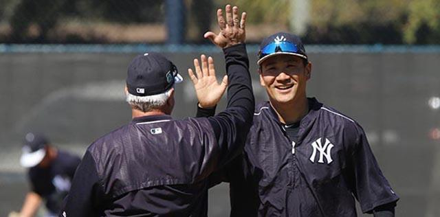Yankee beat writer Pete Caldera talks about events in Yankee camp, Friday, Feb. 17, 2017.