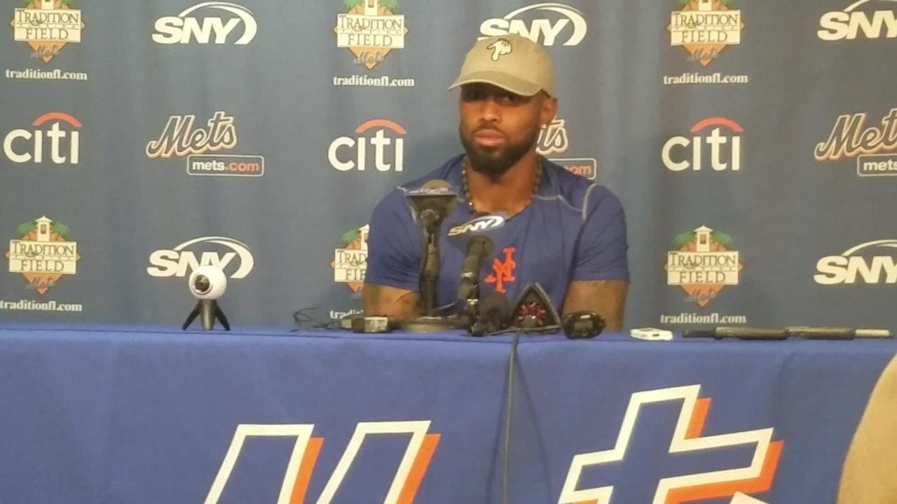 Mets infielder Jose Reyes discusses which positions he'll play during spring training.
