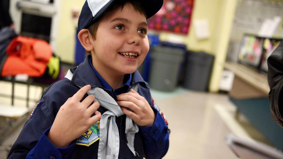 Boy Scouts First Transgender Member Back in Uniform