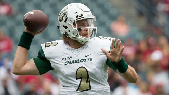 Wayne Hills High School graduate Kevin Olsen, who is now a quarterback at UNC-Charlotte, was arrested on rape charges Sunday afternoon in Charlotte.