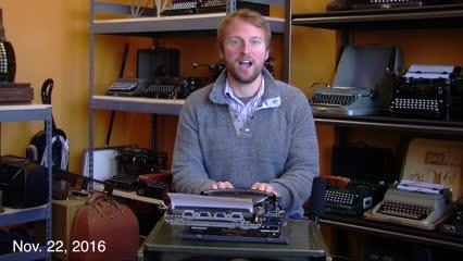 Did you know typewriters are making a comeback? Join Reporter Josh Farley for a look at the newest typewriter shop and other stories you just gotta know happening in Bremerton this week. It's the Bremerton Beat Blast, Bremerton's only weekly newscast.