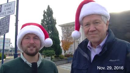 Got five minutes? Join Reporter Josh Farley and find out where and when Santa's coming to Bremerton, along with four other stories you-just-gotta-know-about, happening in Bremerton this week.