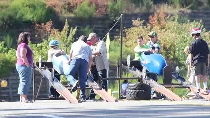 The Kitsap Soap Box Derby Association held a race day in Poulsbo Sept. 25, 2016. Here's a taste of the action.