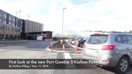 We took a tour of the new Port Gamble S'Klallam Point Hotel ahead of its opening on Nov. 25. Here's what visitors can expect when it opens its doors: