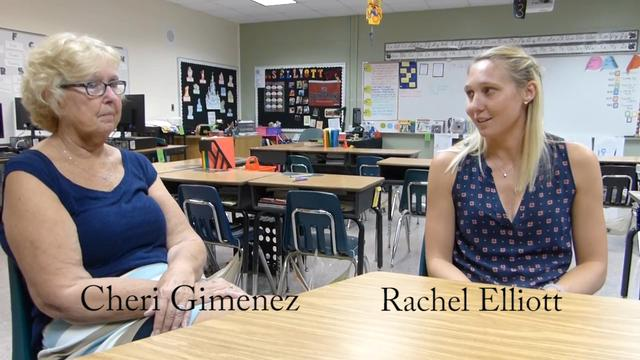 Mom & daughter teach at Manatee Elementary
