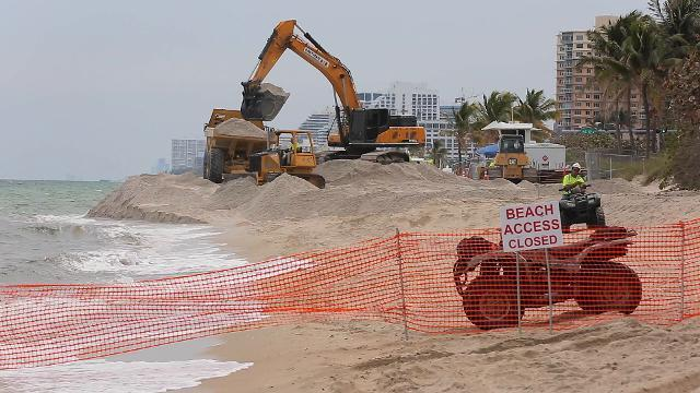 Erosion threatening Florida's beaches