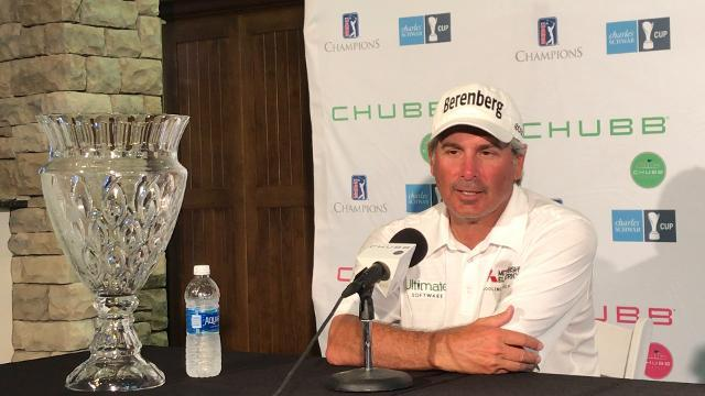 Chubb Classic champion Fred Couples