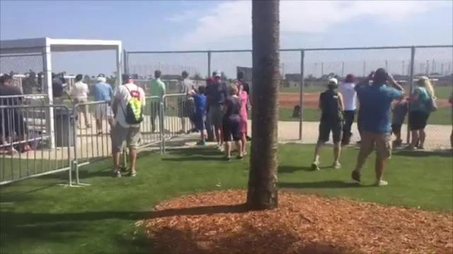 Open house draws Red Sox fans to JetBlue Park