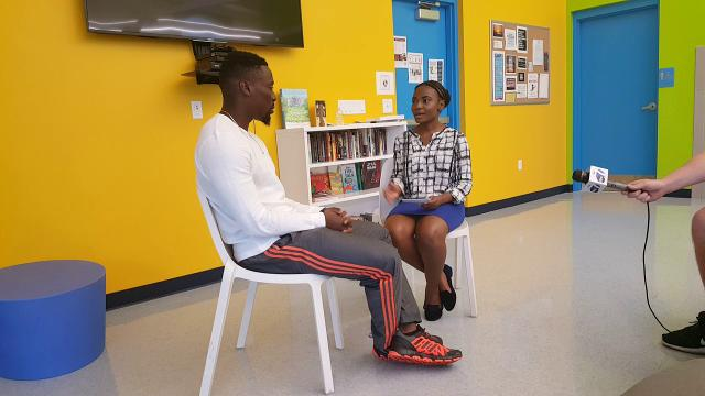 Mackensie Alexander at Immokalee Boys & Girls Club
