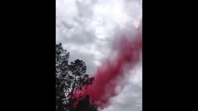Saturday: Plane does a drop over brush fire in Collier