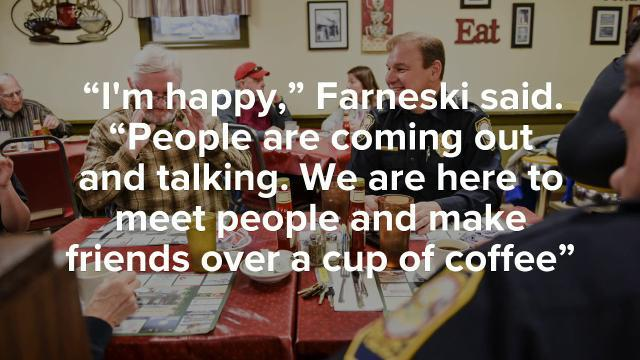 Watch: Coffee with a Cop