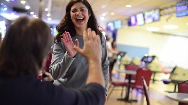 Watch: Wine makes you a better bowler