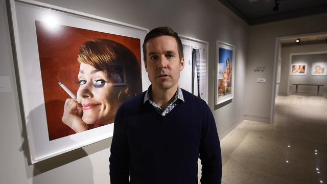 Matthew Clay-Robison, gallery director at York College of Pennsylvania, describes the exhibit Unbranded: A Century of White Women 1915-2015 that is at the York College Galleries and expand to Marketview Arts.