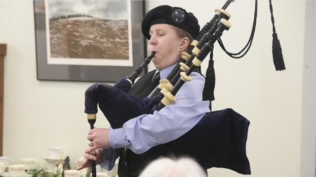 The Lebanon Valley Council on the Arts hosted the annual Burn's night, the yearly celebration of Scotland's national poet.