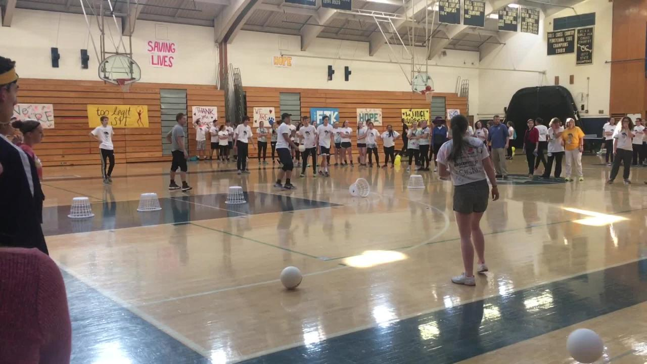 Mini-THON at Chambersburg Area Senior High School