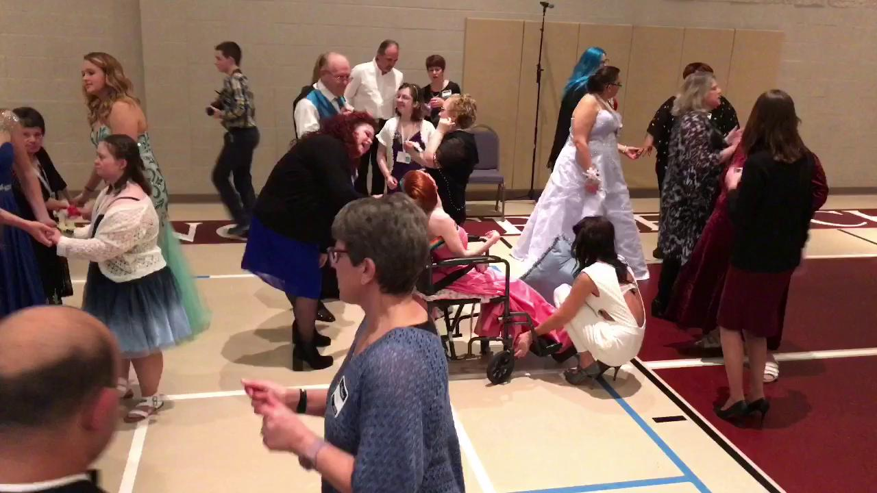 "King Street Church in Chambersburg, Pa. hosts, ""Night to Shine,""  a prom for people with special needs. This event was sponsored by the Tim Tebow Foundation."