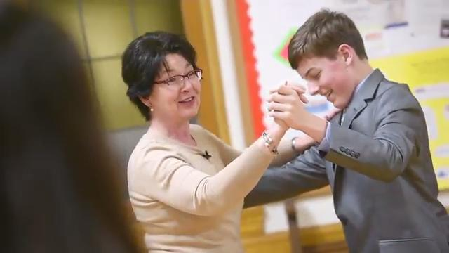Kids age 9 through 14 learn about the steps and missteps of ballroom dancing.