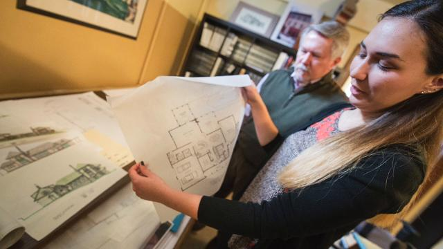 Jim and Adrienne Williams are a father-daughter team at Williams Architects in York