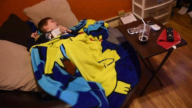 Hudsen Wolfe, 7, of West York, was diagnosed in January with a rare, aggressive brain tumor known as diffuse intrinsic pontine glioma or DIPG. His parents are struggling with giving him a normal life while trying to find a cure.