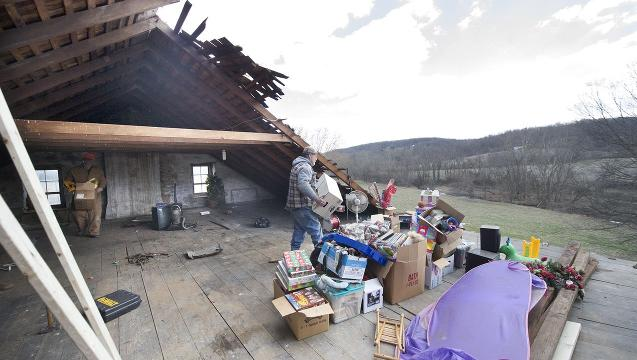 Watch: Storm damage in York County