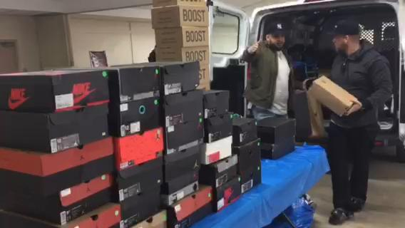 The Lebanon Valley Expo Center hosted the county's first sneaker convention February. Rare and classic sneakers worth hundreds to thousands of dollars were bought, sold and traded.
