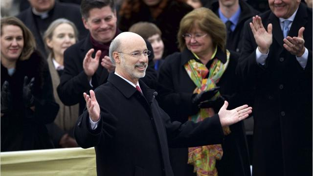 Pennsylvania Governor Tom Wolf proposed a 32.3 billion state budget for fiscal 2018. It seeks to reduce an estimated billion structural deficit, through two billion in spending cuts and one billion in revenue enhancements. His plan supposedly won't raise the personal income or state sales taxes. Wolf also suggested imposing a 25 dollar fee per resident in municipalities using the state police for local law enforcement. Currently, they are paid for through the gasoline tax.