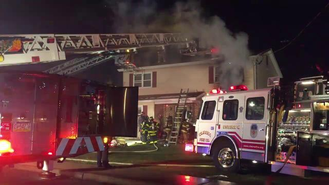 Watch Raw video from Annville fire