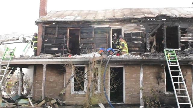 Watch: Fire destroys Shippensburg area home
