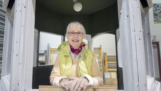 Watch: Landmark trolley kiosk preserved by returning Yorker