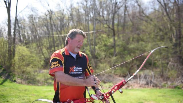 Watch: National archery record holder Scott Rissinger