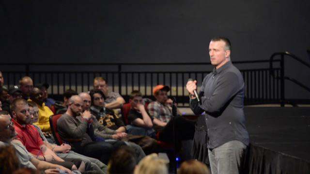 Watch: Former NBA player Chris Herren talk about his battle with addiction