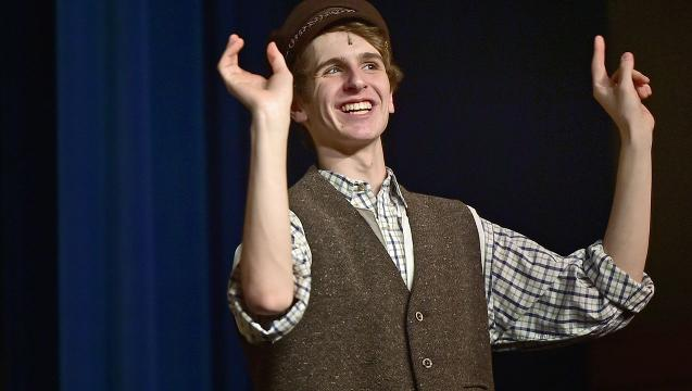 Watch: Fiddler on the Roof at CASHS
