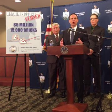 Watch: Pa. Attorney General's office announces heroin bust