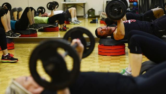 Watch: York JCC trainer, hair stylist competing for Men's Health cover