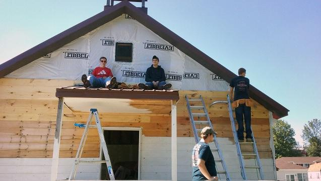 Red Lion students learn love of history rebuilding a one-room schoolhouse