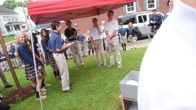 Watch: Time capsule caps 155 years at Immaculate Conception School