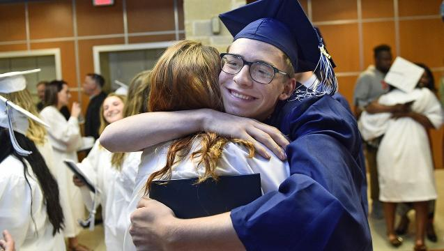 Watch: Career Magnet School graduation