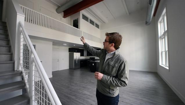 Watch: New loft apartments open in former nightclub space in York