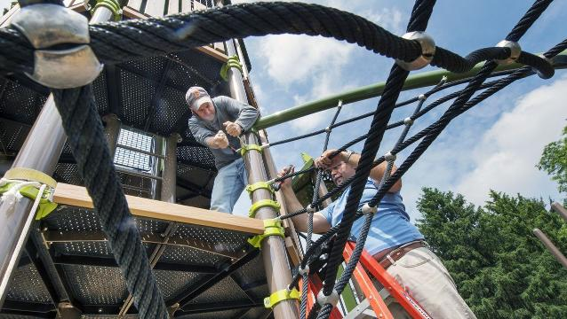 Take a sneak peek at Springettsbury Twp.'s new playground