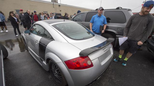 See cars available at Drug Task Force auction