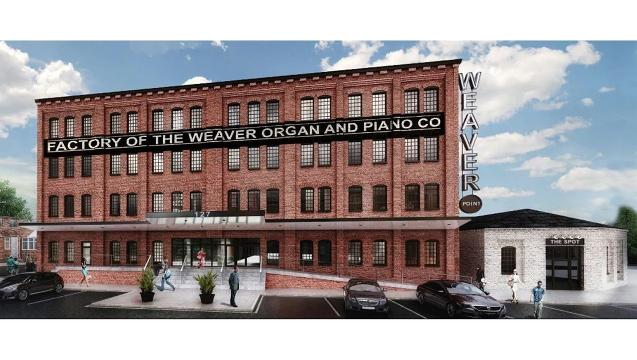 Watch: New life for Weaver Organ and Piano building in York