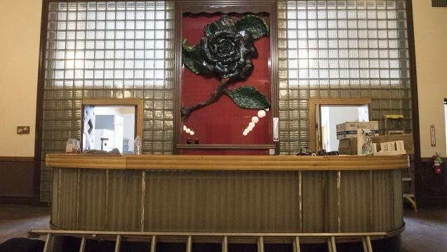 Watch: A glimpse of the Black Rose Ballroom