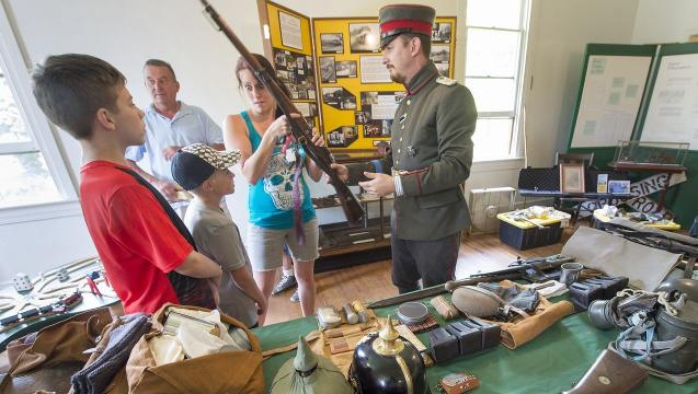 WWI history lesson comes to life for Red Lion family