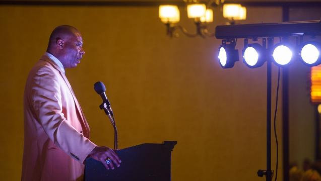 Watch: Chris Doleman speaks about perseverance to student-athletes