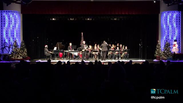 The Port St. Lucie High School Band performed their Holiday Joy winter concert Thursday, Dec. 15, 2016, at The Port St. Lucie High School auditorium.