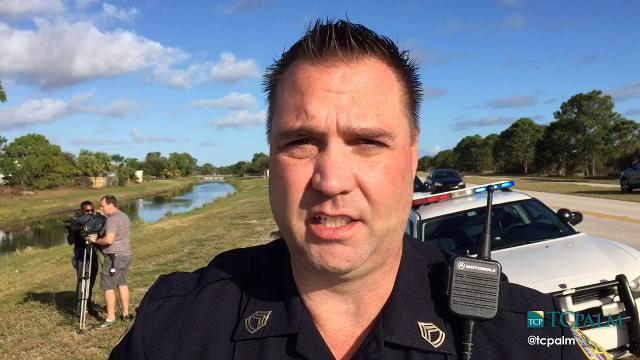 The body of a man was pulled from a truck found submerged in a Port St. Lucie canal Jan. 12, 2017.