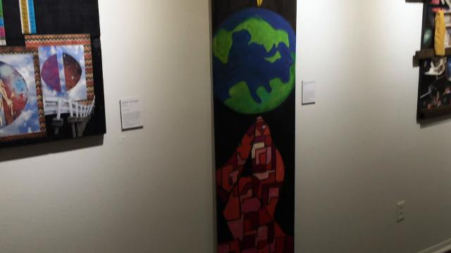"""The new """"Dark Matter"""" exhibit at The Center for Contemporary Arts offers a chance to ponder the elusive material."""
