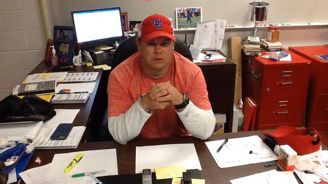 Abilene Cooper coach Todd Moebes talks about his team's 55-23 victory over previously unbeaten Canutillo in a Region I-5A Division II football playoff game Nov. 18, 2016 at Midland's Grande Communications Stadium.